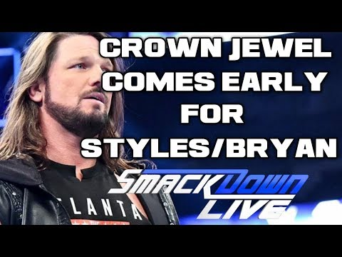 WWE Smackdown Live Oct. 30, 2018 Full Show review & Results: AJ STYLES VS DANIEL BRYAN, CROWN JEWEL