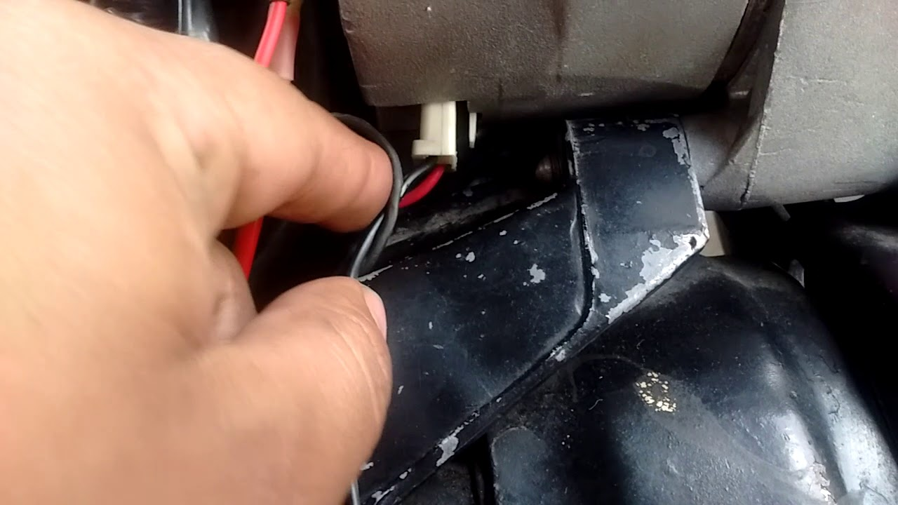 1985 Buick Regal Alternator Electrical Wiring Youtube