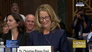 LIVE: Professor Christine Blasey Ford & Supreme Court nominee Judge Brett Kavanaugh testify (Day 1)