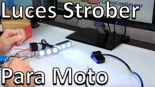 Luces Led Strober Para Moto - Accesorios para motos