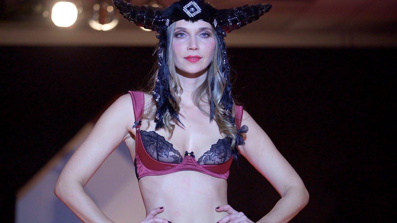34e8173745 BLACK SECRET - SEXY LINGERIE Fashion Event KÖRPERNAH Nov 2017 in 4K ...