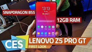 Lenovo Z5 Pro GT with Snapdragon 855, 12GB RAM First Look