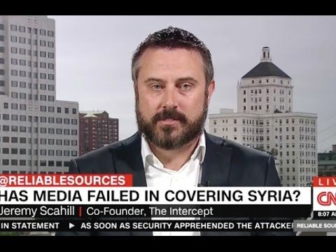 Jeremy Scahill Takes A Chainsaw To Pro-War Media Coverage