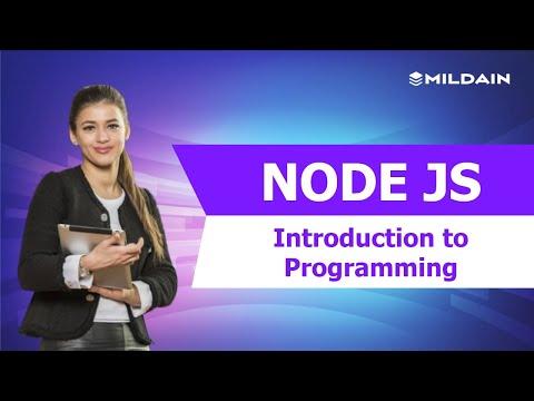 Introduction To Node JS   Node JS Programming Language Tutorial   Node JS Training thumbnail