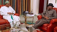 Just In : Jonathan Currently Meeting Buhari In Aso Rock