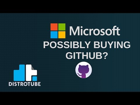 Microsoft Considering Buying GitHub, So I'm Moving Over to GitLab