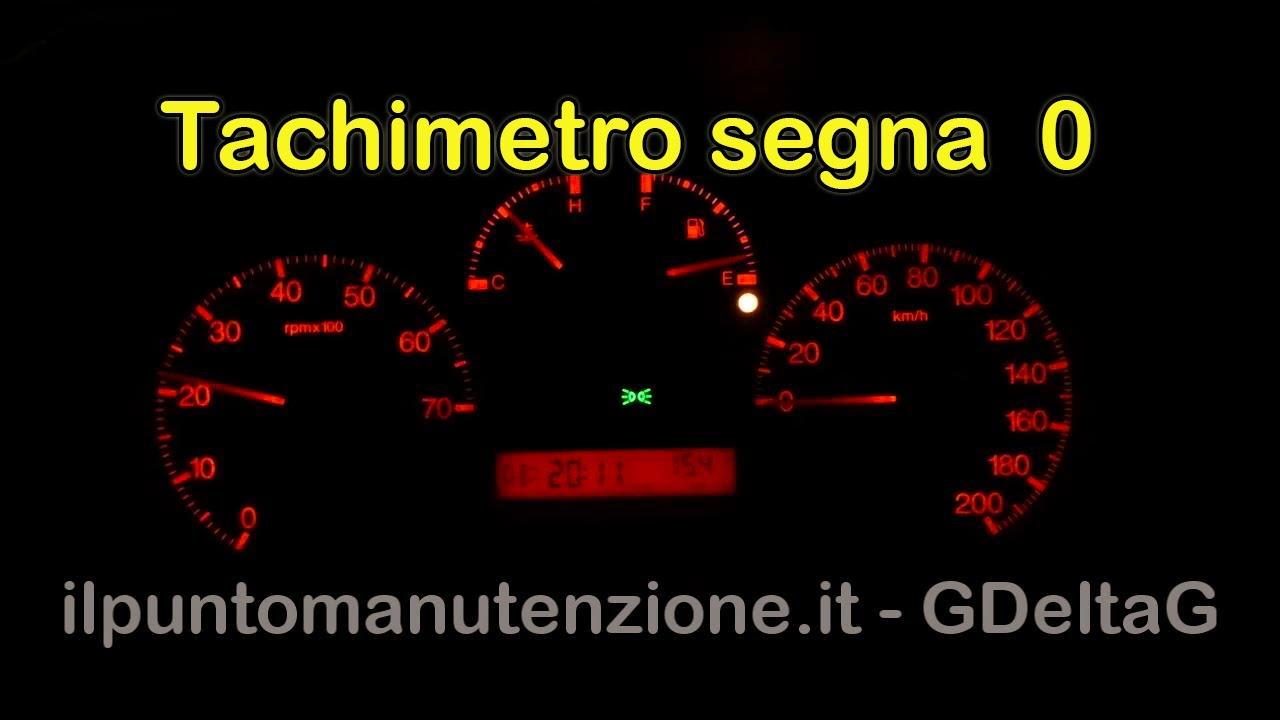 Tachimetro non segna velocità (no abs) - YouTube on
