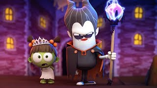 Funny Animated Cartoon | Spookiz Cula the Scary Wizard in the School Play | Cartoon For Children