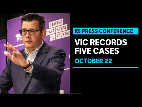 #LIVE: Five new cases of COVID-19 reported in Victoria | ABC News