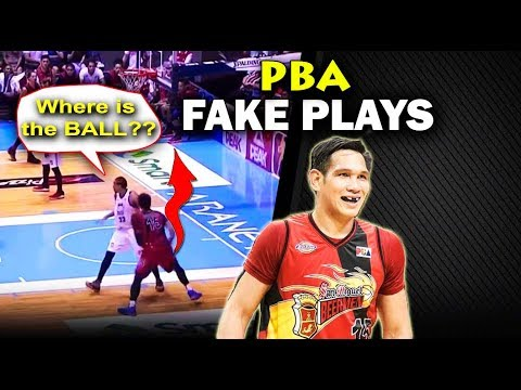 PBA's Best Fake Plays (VIDEO) MUST SEE!!!