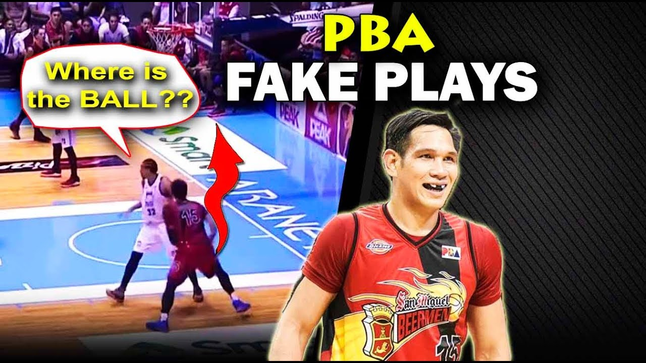 PBA FAKE PLAYS