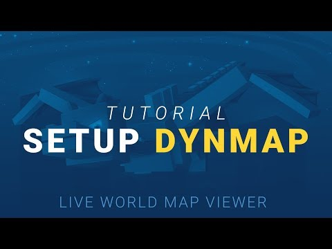 How To Setup Dynmap (Live World Map Viewer)