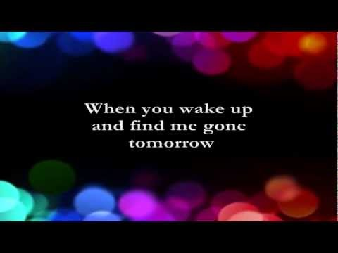 I'll Say Goodbye For The Two Of Us  || Lyrics ||  Expose