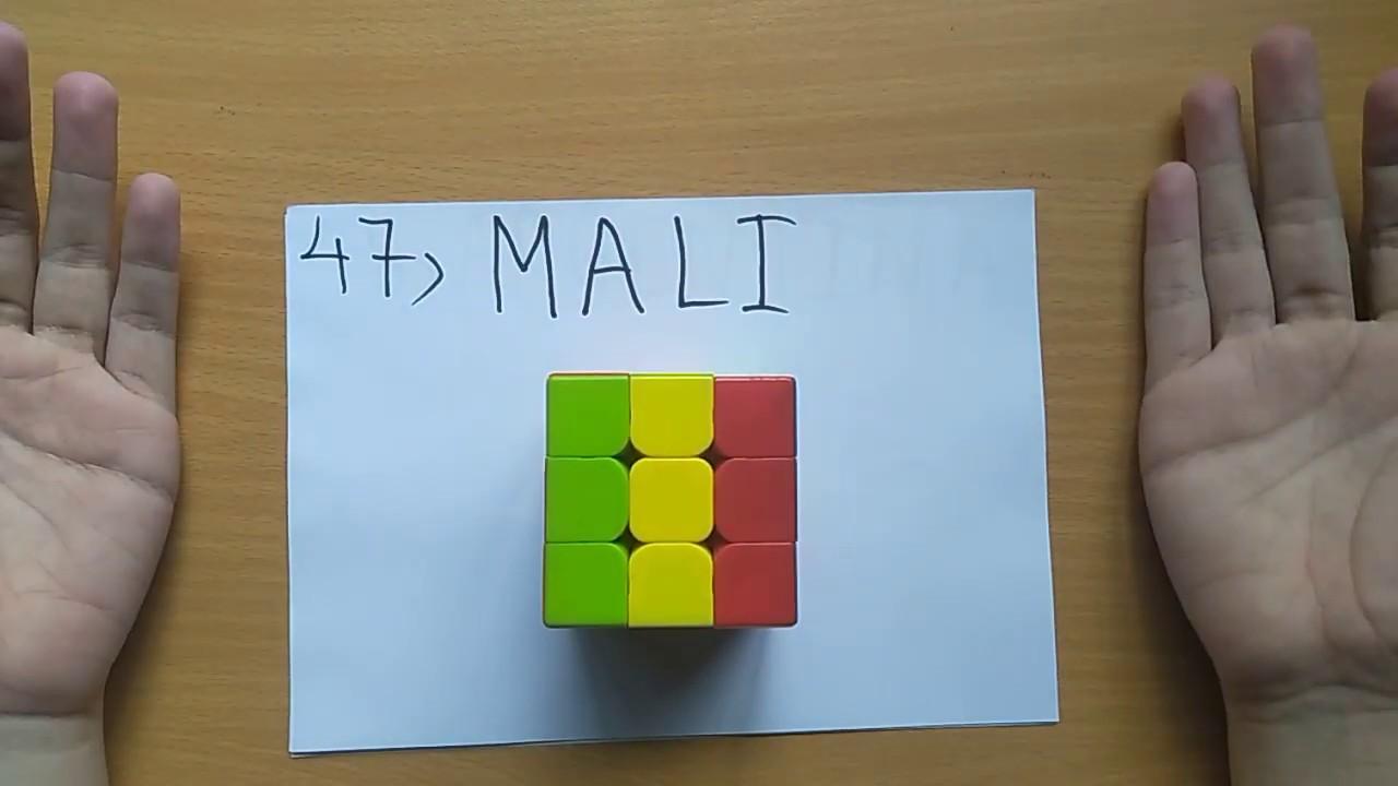 NDD- Tạo hình lá cờ các nước trên Thế giới bằng ….. Rubik (Phần 2)