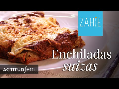 Exquisite Red Swiss Enchiladas Recipe