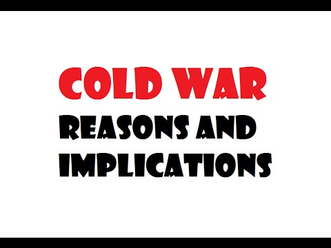 Cold war ussr vs usa- cold war review-world history - reasons of cold war -implications od cold war