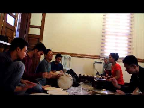 Indonesian Music Percussion (Musik Perkusi) - Gisbi