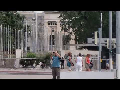 My trip to the UNOG - Palais des Nations (UN Headquarters) in Geneva Switzerland