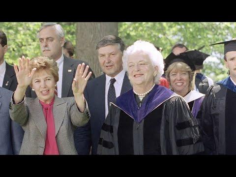 Wellesley Remembers Barbara Bush's 1990 Address