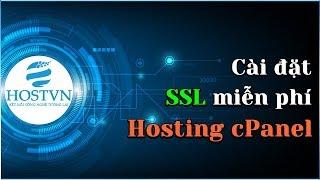 Hướng dẫn cài đặt SSL miễn phí trên Hosting cPanel | HOSTVN