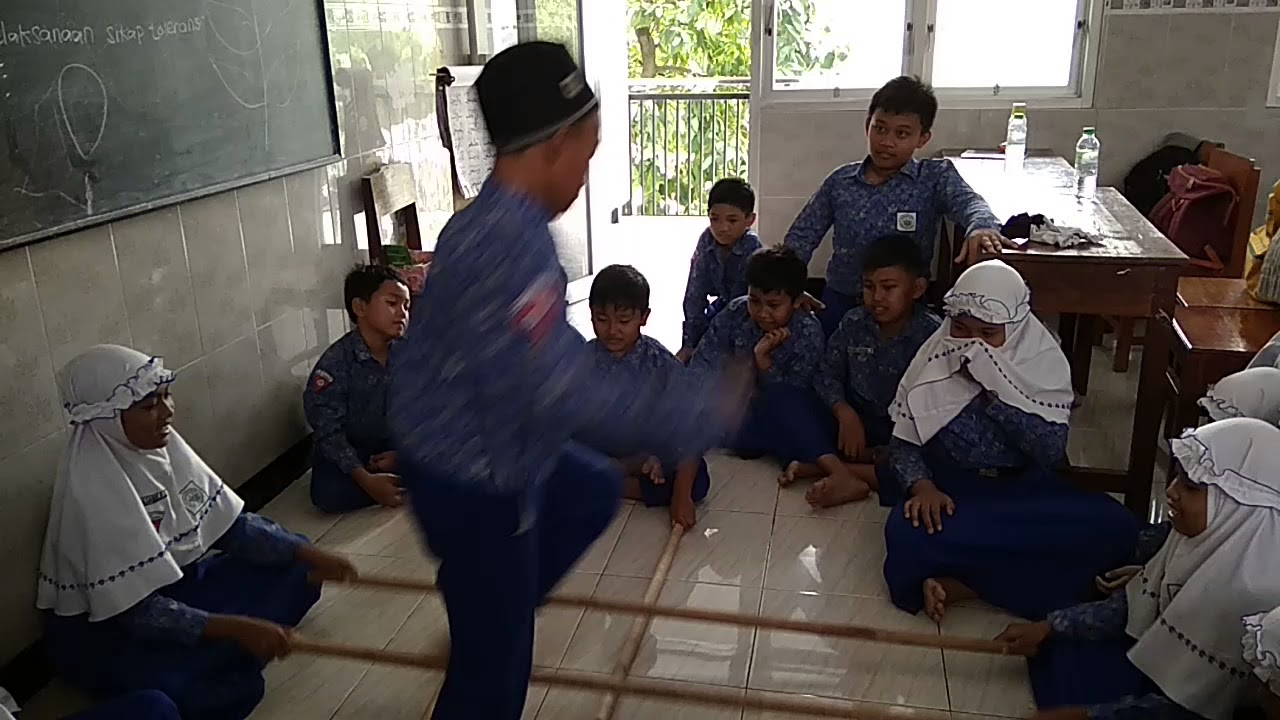 Permainan Tradisional Rangku Alu Indonesia Youtube