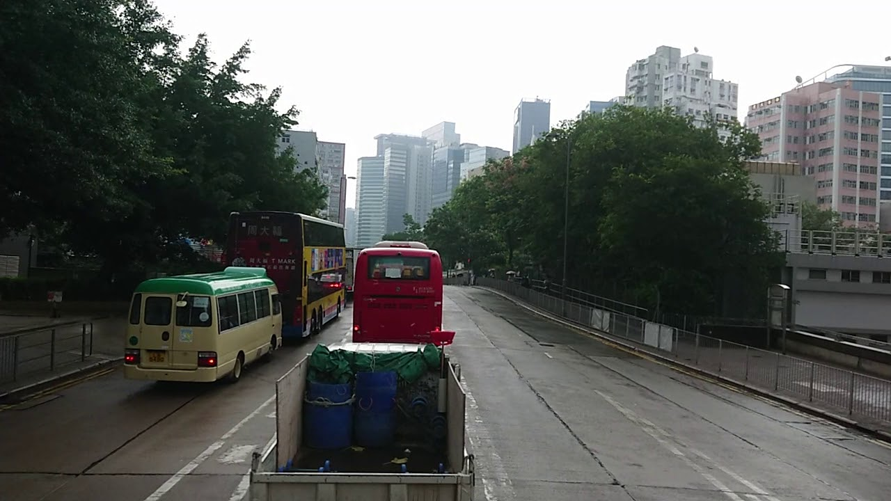 606X(九龍灣(企業廣場)巴士總站至小西灣藍灣半島總站)(2020年5月12日早上某班) - YouTube