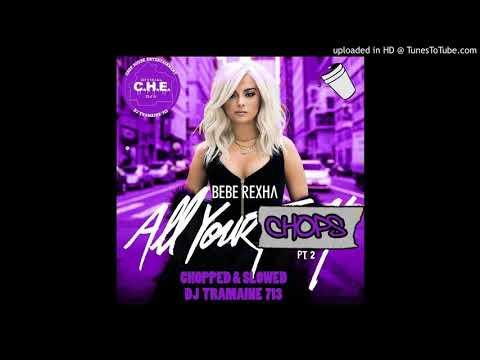 Bebe Rexha- Comfortable (Ft. Kranium) (Chopped & Slowed By DJ Tramaine713)