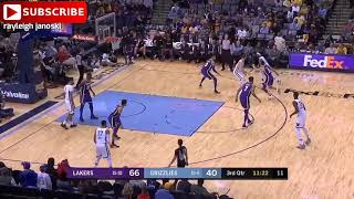 Los Angeles Lakers vs Memphis Grizzlies full game highlights 12,08,2018 NBA season