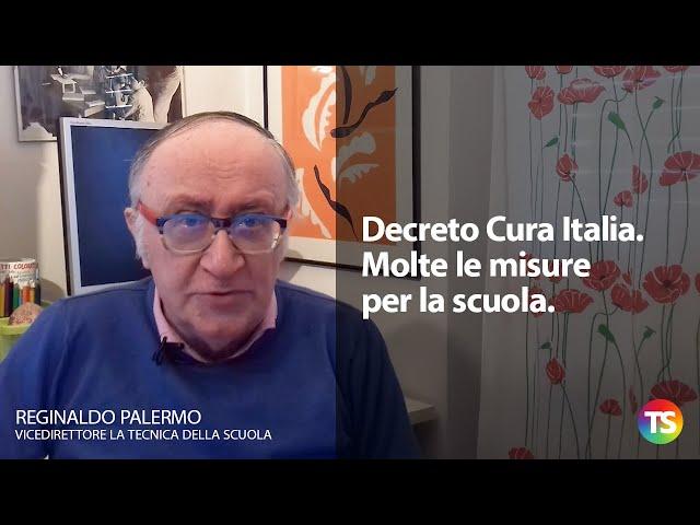 Decreto Cura Italia. Molte le misure per la scuola