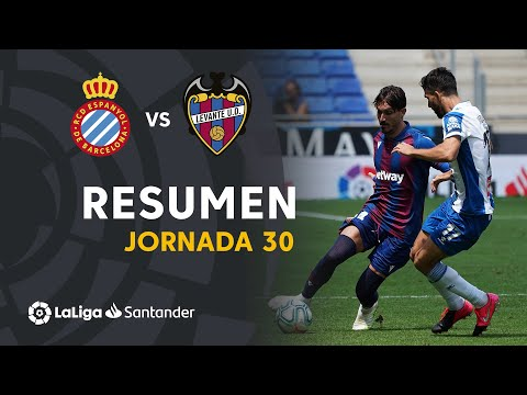 Espanyol Levante Goals And Highlights