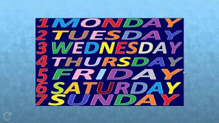 Teaching the Days of the Week with Fun Jigsaw! Little Kids Channel