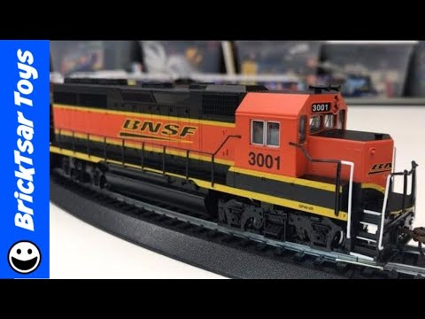 Bachmann Trains Rail Chief HO Scale Ready to Run Complete Train Set – BNSF