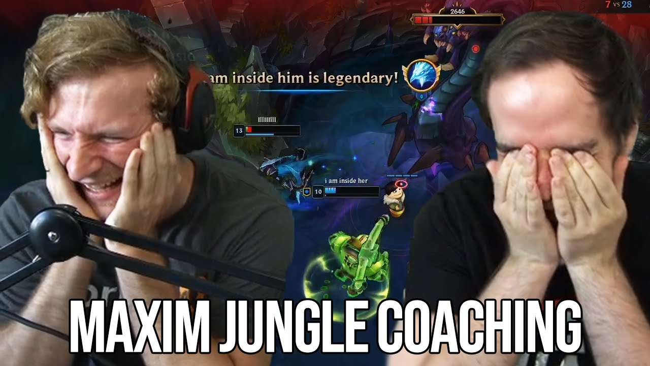Größter LACHFLASH beim Nash! | Maxim Jungle Coaching von Johnny