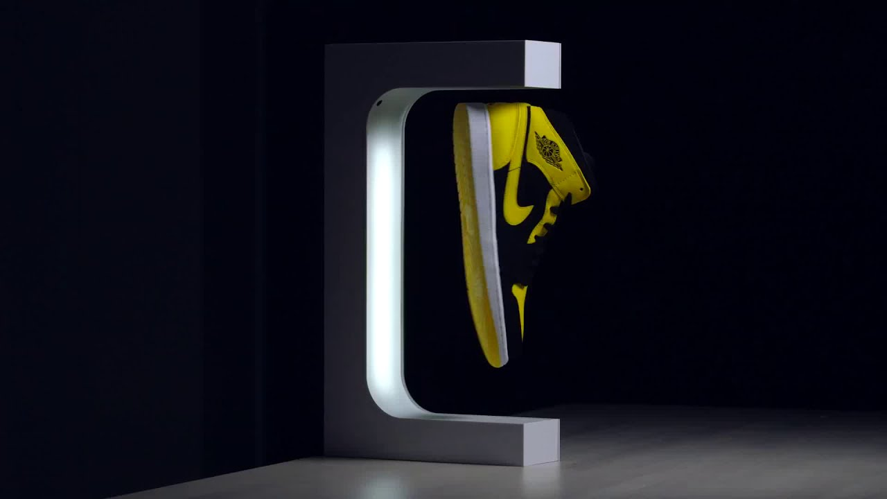 Original HYPELEV Levitation Sneaker Display // Black video thumbnail