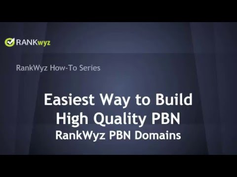 RankWyz PBN Domains - The Easiest Way to Authority Expired Domains