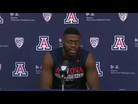 Arizona Basketball Press Conference [2/2]