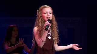 WRECKING BALL - MILEY CYRUS performed by ELLA BROWN at TeenStar Singing Competition