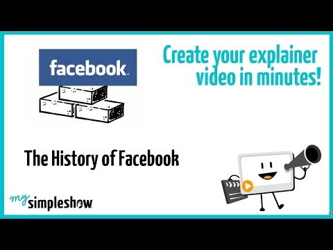 The History of Facebook - mysimpleshow