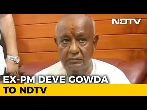 People's Mandate In Karnataka Is 117: HD Deve Gowda Tells NDTV