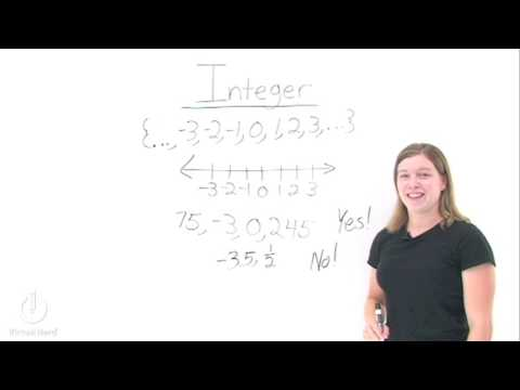 What's an Integer?
