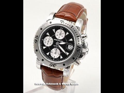 fa90283267247 Montblanc Sport Chronograph Ref. 7034 (FM11215) - YouTube