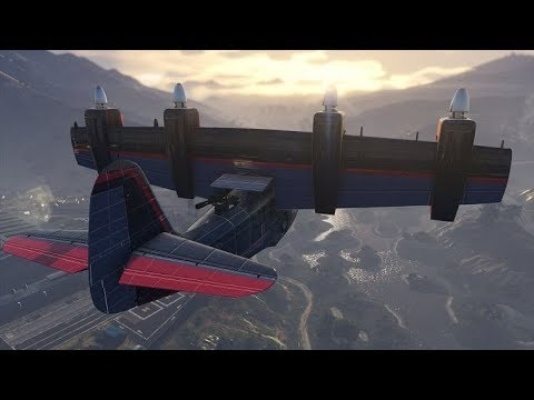 how to get cargo plane in gta 5 single player