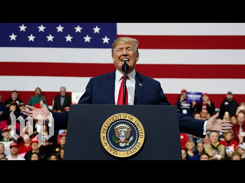 Trump turns rally for Rick Saccone into a rally against media