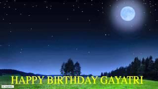 Gayatri  Moon La Luna - Happy Birthday
