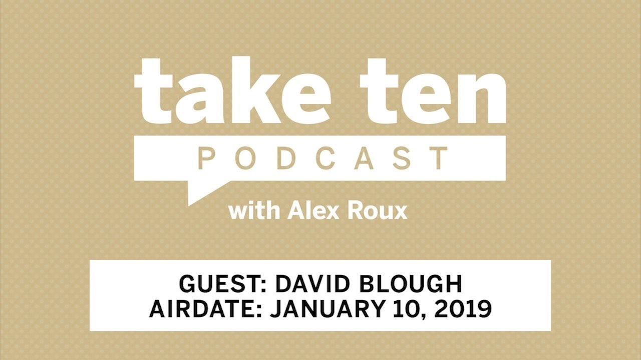 Take Ten with Alex Roux: David Blough | Purdue | Big Ten Football