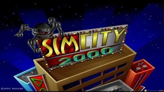 SimCity 2000 gameplay (PC Game, 1993)