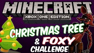 Foxy and Christmas Challenge - Minecraft Xbox Edition (Father and Son Gameplay)