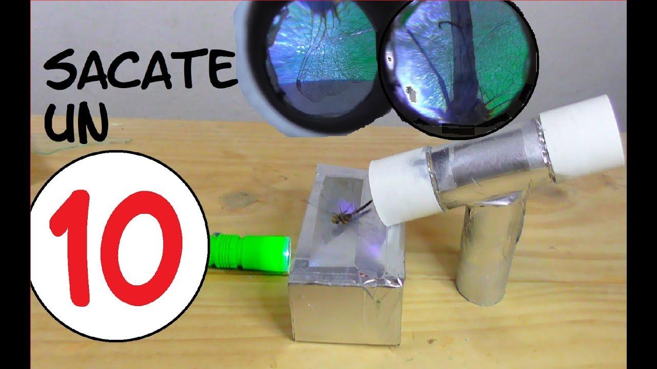 Resultado de imagen para microscopio casero