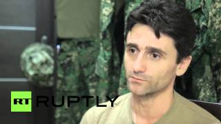 "Russia: ""We owe Russia!"" Serbian sniper explains why he joined DPR"