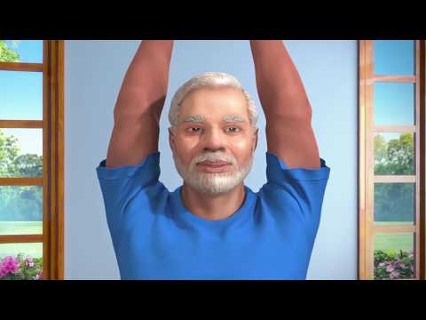 Yoga with Modi (Hindi)